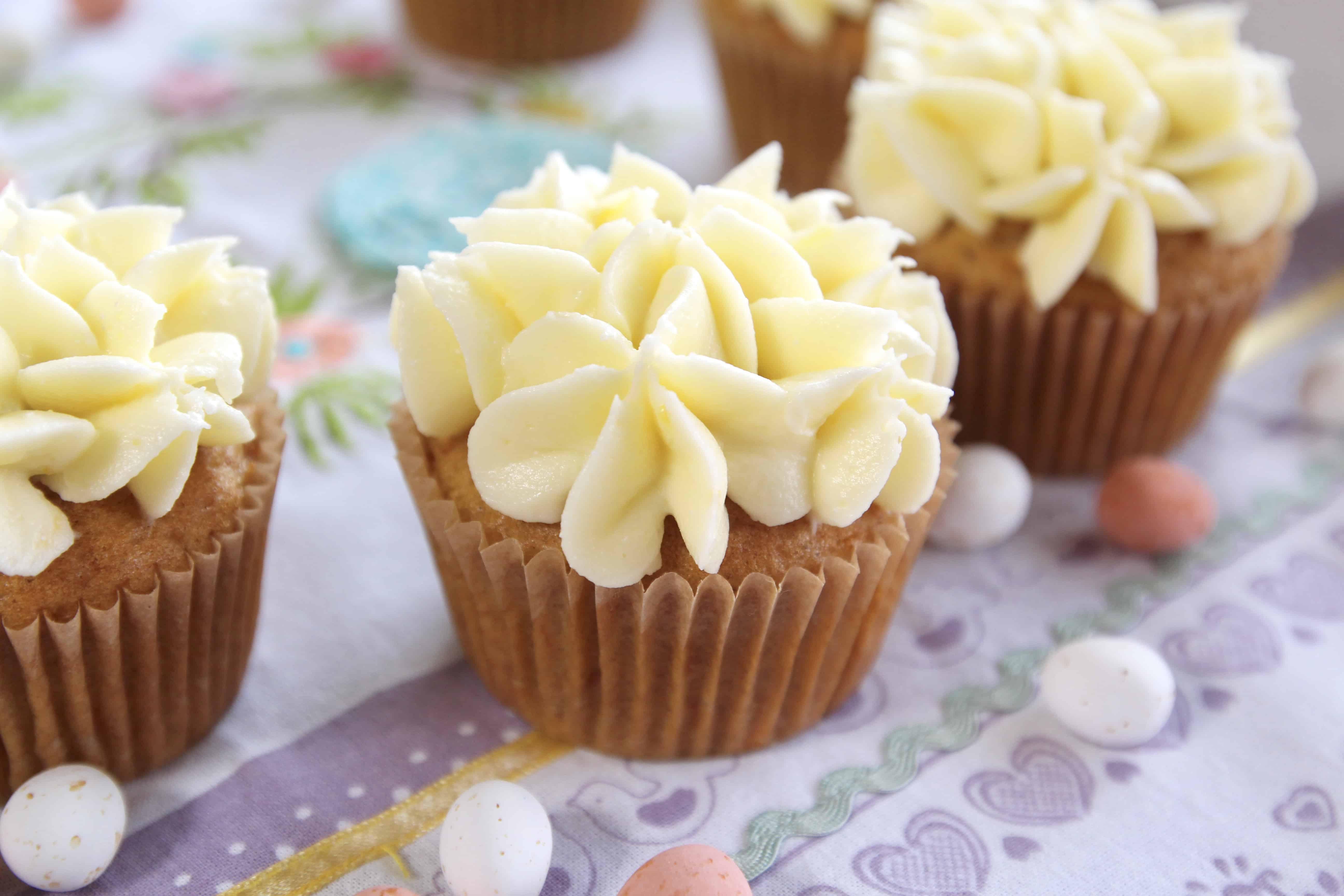 Carrot Cupcakes With Lemon Cream Cheese Frosting Ai Made